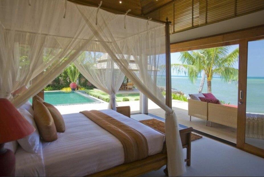 4 Bed Beachfront Villa - Chef, maid, nanny วิลลา 4 ห้องนอน 5 ห้องน้ำส่วนตัว ขนาด 180 ตร.ม. – หน้าทอน