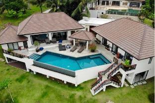[バンポル]ヴィラ(1000m2)| 4ベッドルーム/5バスルーム 4 Bedroom Luxury Sea View Villa Angthong Hills