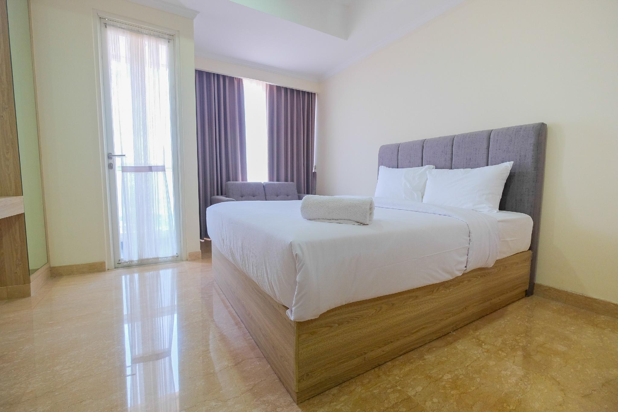 Studio With View At Menteng Park Apt By Travelio