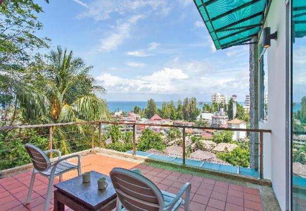 karon 3 bedrooms  seaview pool villa Phuket