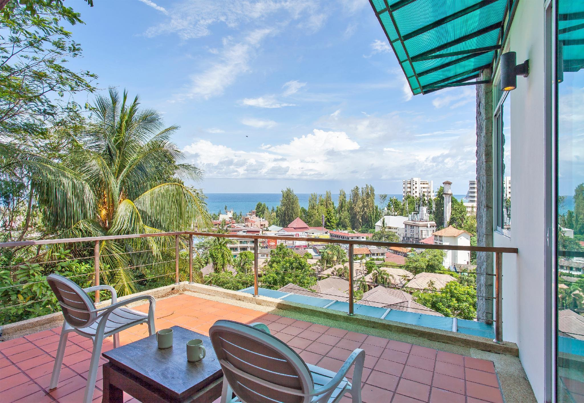 karon 3 bedrooms  seaview pool villa วิลลา 3 ห้องนอน 3 ห้องน้ำส่วนตัว ขนาด 420 ตร.ม. – กะรน