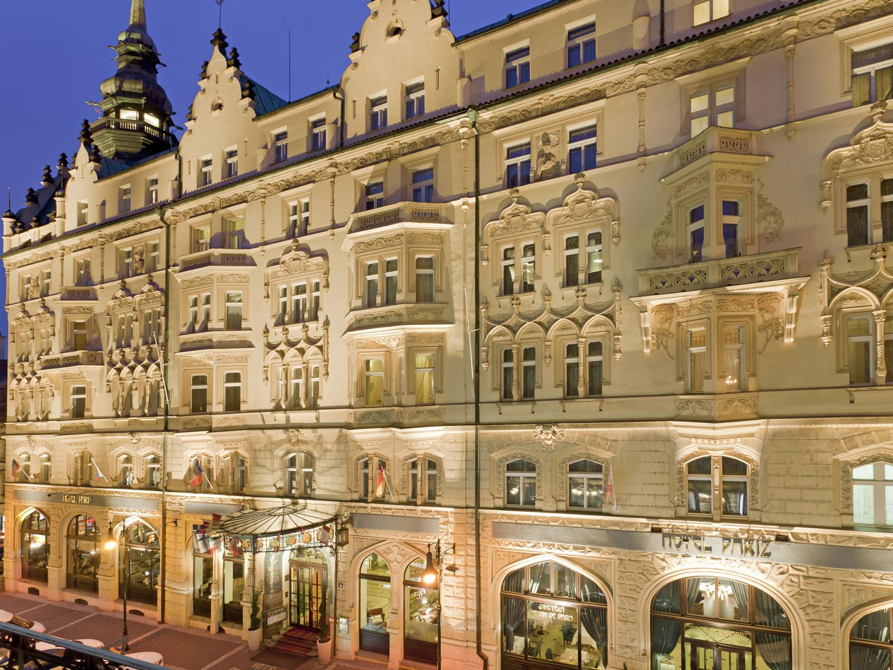 Hotel paris prague in czech republic europe for Europe hotel prague