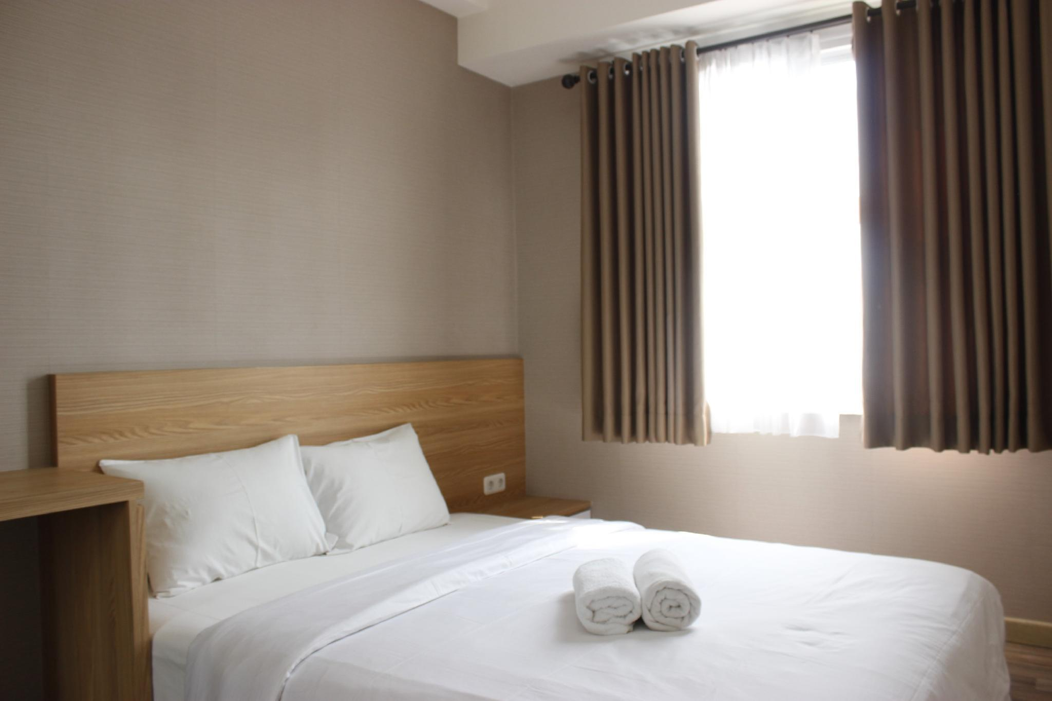 Private 1BR Apartment Parahyangan Residence With Mountain View By Travelio