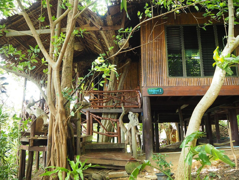 Amazing Bamboo House 2 Bedrooms Makmai 1 Sea View บ้านเดี่ยว 2 ห้องนอน 2 ห้องน้ำส่วนตัว ขนาด 35 ตร.ม. – อ่าวโละดาลัม