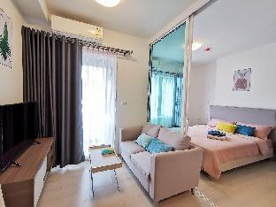 Cozy Room With Amazing Swimming Pool close to MRT อพาร์ตเมนต์ 1 ห้องนอน 1 ห้องน้ำส่วนตัว ขนาด 30 ตร.ม. – รัชดาภิเษก
