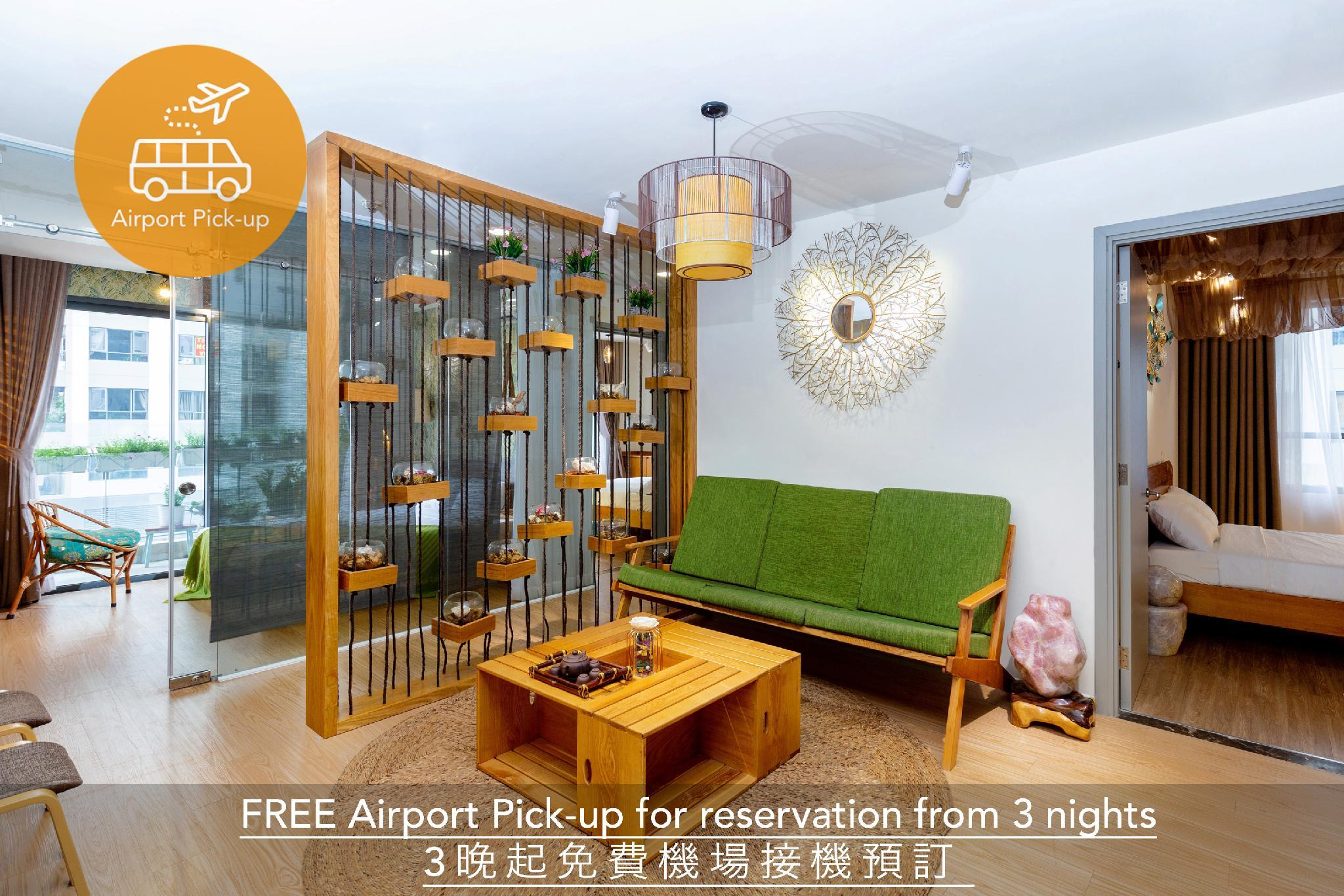 ASIAN Inspired 4BR Suite FREE ROOFTOP POOL+PICK UP