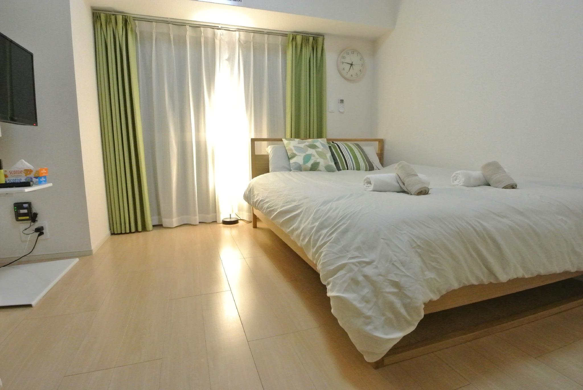 Private Apartment 1 Double Bed And 2 Futon