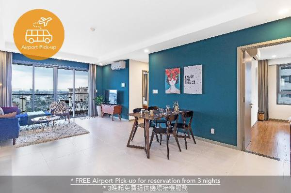 130sqm 3BR PANORAMIC View-FREE ROOFTOP Pool+PICKUP Ho Chi Minh City