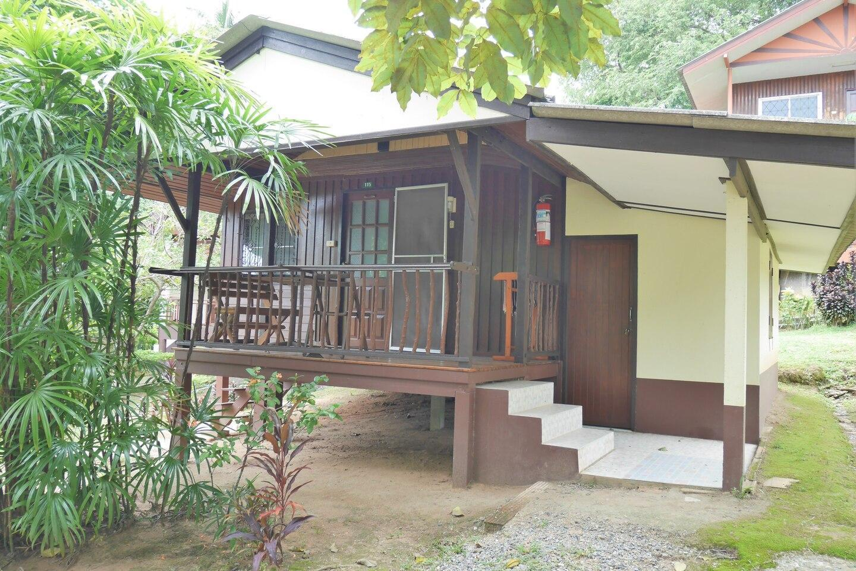 Wooden Bungalow with Kitchenroom  (No Air-con) สตูดิโอ บังกะโล 1 ห้องน้ำส่วนตัว ขนาด 30 ตร.ม. – หาดละไม
