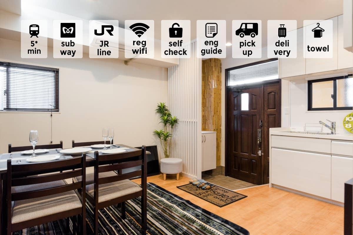 1  AMAZING HOUSE NEAR OTSUKA  COMFY And MODERN  3BR