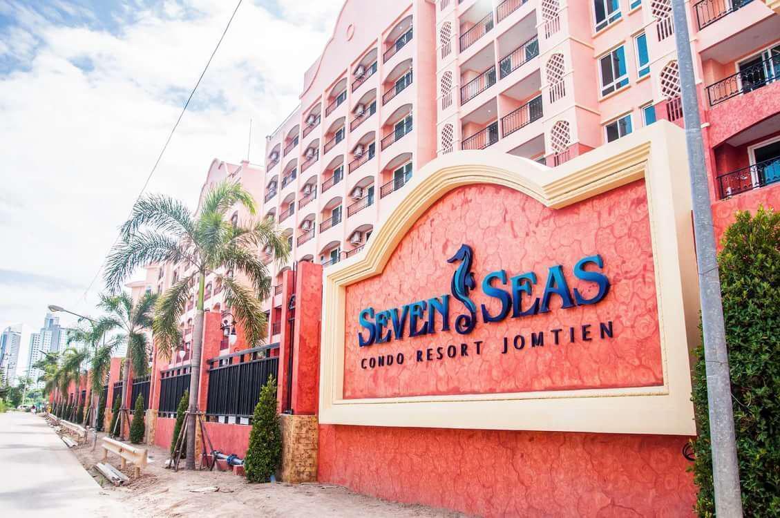 Seven Seas Condo Resort 1 bedroom F6 อพาร์ตเมนต์ 1 ห้องนอน 1 ห้องน้ำส่วนตัว ขนาด 36 ตร.ม. – หาดจอมเทียน