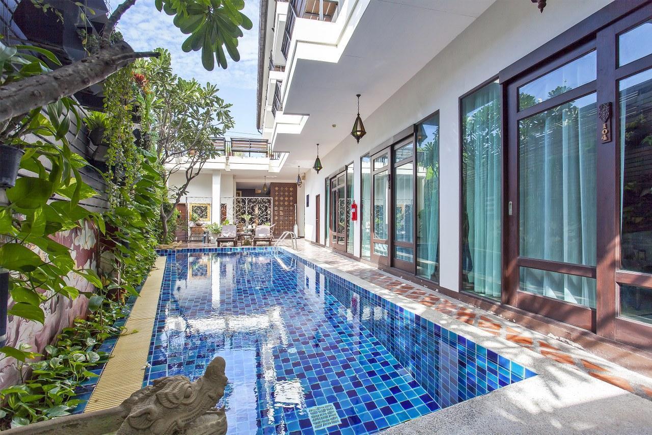 Areeya Boutique Resort 16BR w/ Pool in the City วิลลา 16 ห้องนอน 16 ห้องน้ำส่วนตัว ขนาด 800 ตร.ม. – วัวลาย