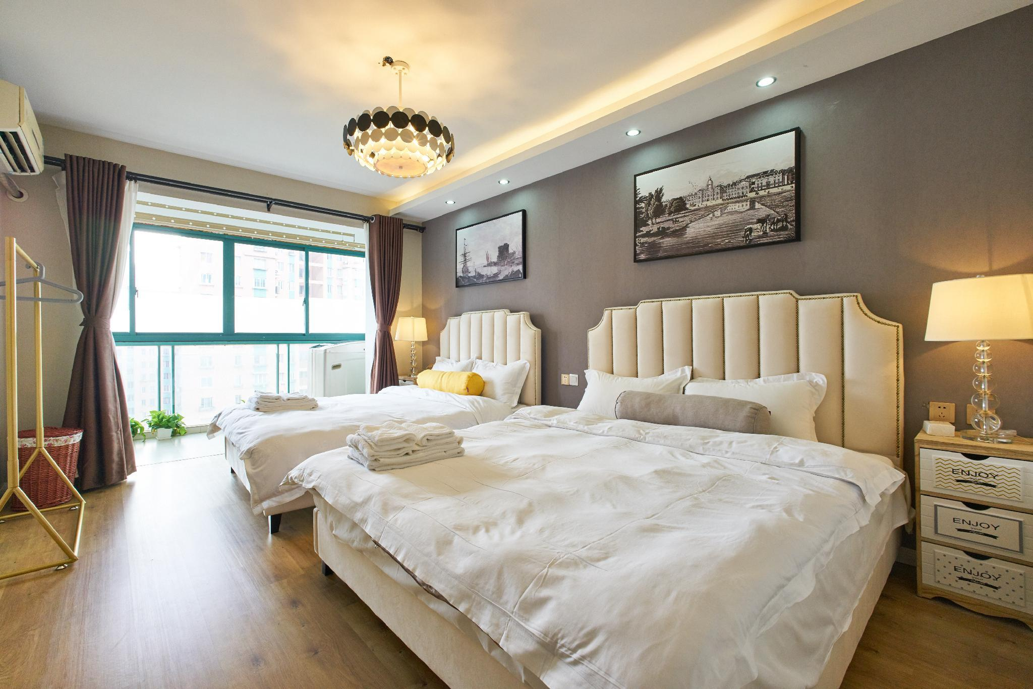 Lazy Apartment Xujiahui Four Bedroom Suite