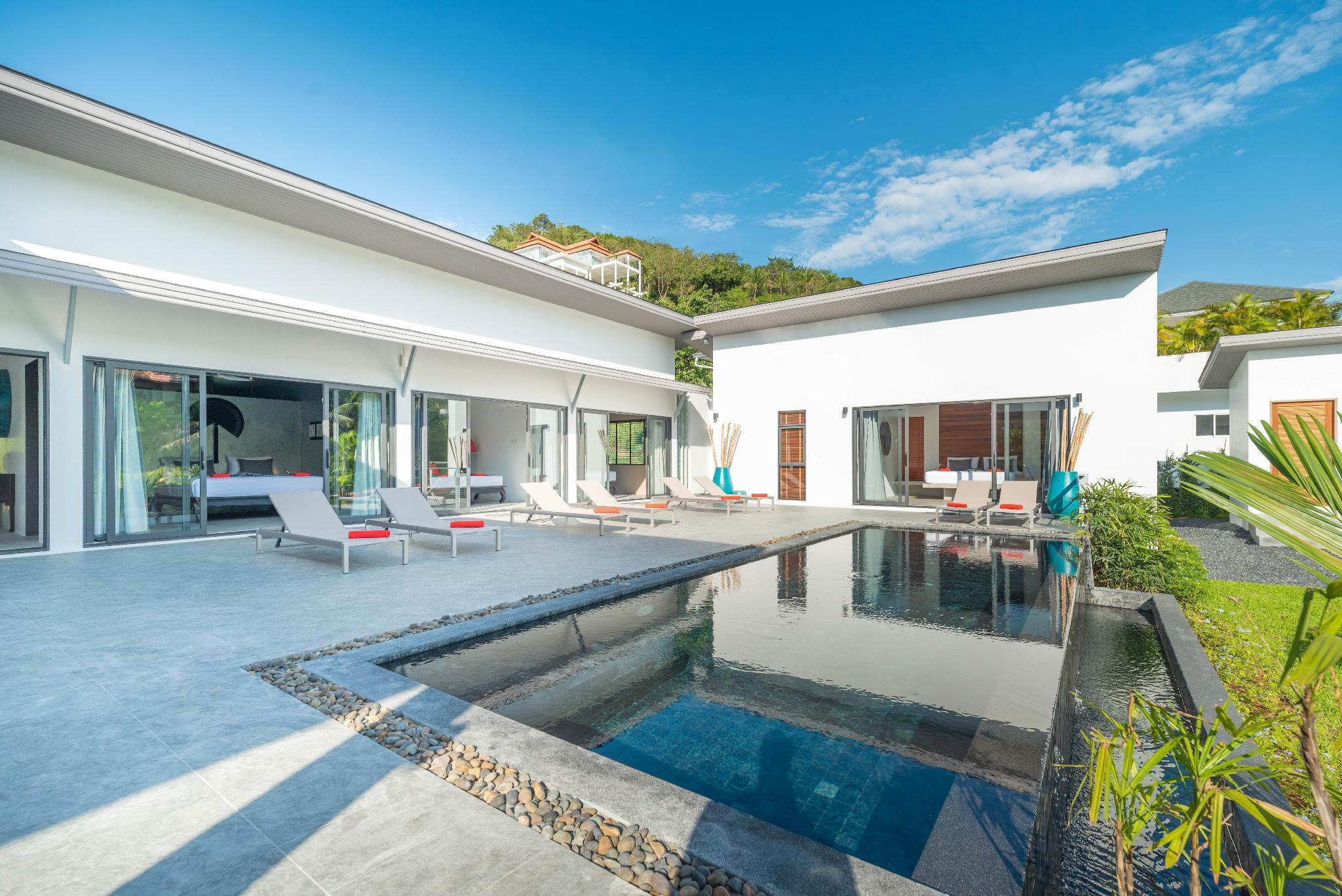 Villa Sai Baho 4BR - Private Pool & Walk to Beach วิลลา 4 ห้องนอน 4 ห้องน้ำส่วนตัว ขนาด 200 ตร.ม. – บางปอ