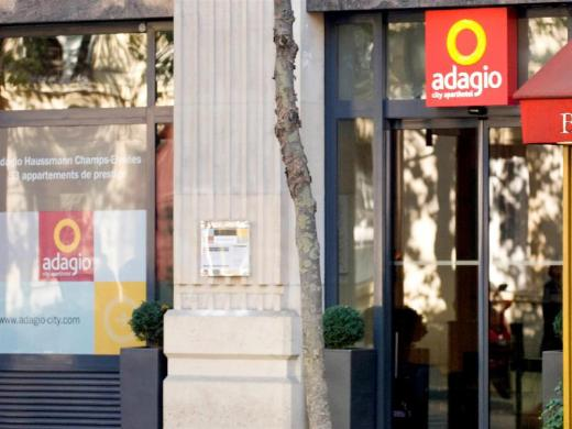 Adagio Haussmann Champs-Elysees Aparthotel