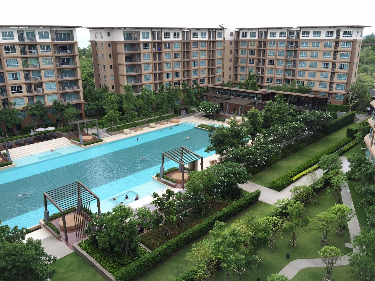 Baan Thew Lom - Nice vacation pool view apartment