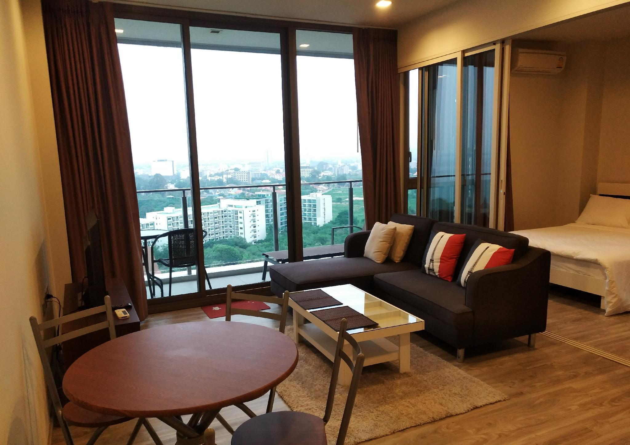 Baan Plai Haad - sea view อพาร์ตเมนต์ 1 ห้องนอน 1 ห้องน้ำส่วนตัว ขนาด 54 ตร.ม. – นาเกลือ/บางละมุง