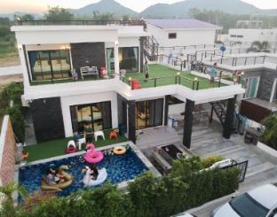 [ボーファイ]ヴィラ(280m2)| 4ベッドルーム/3バスルーム Rione Hip Huahin Pool villa