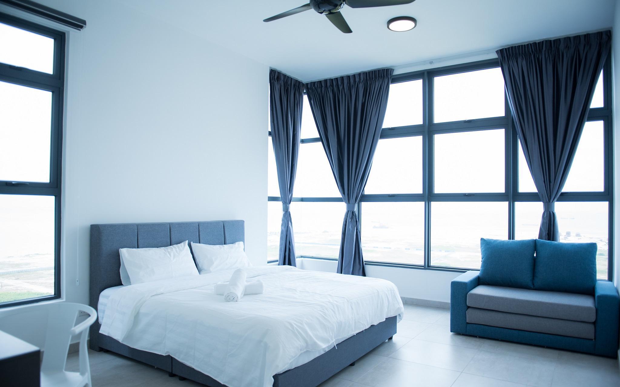 Atlantis 2 Bedroom  SeaView TVBox Jonker 8pax