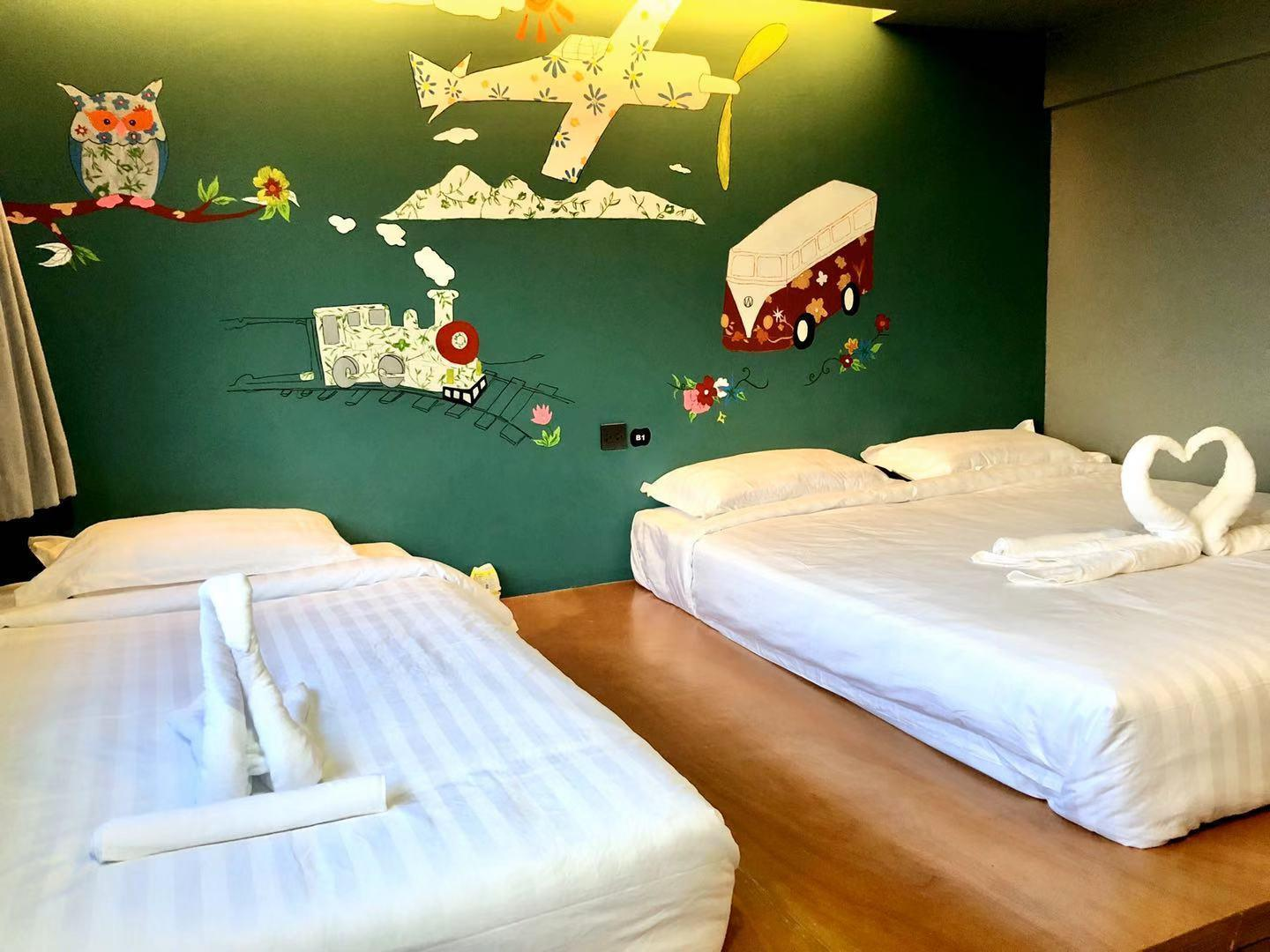 SKXandServiced Apartment Standard Triple Room