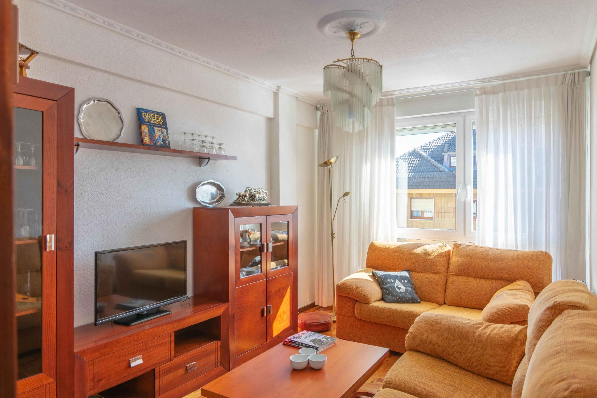 Acogedor apartamento de 3 habitaciones