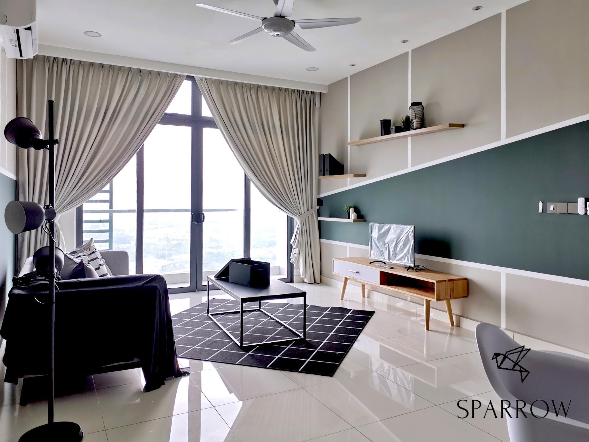 Sparrow Green Haven Suite JB Permas Jaya   6PAX