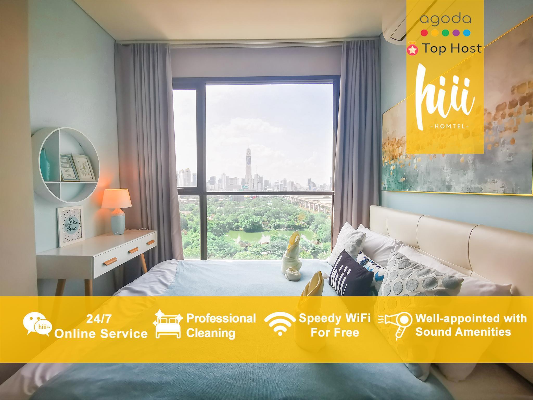 [hiii]Hydrangea/2BR/Rama9/MRT/Airport Link-BKK197 อพาร์ตเมนต์ 2 ห้องนอน 1 ห้องน้ำส่วนตัว ขนาด 50 ตร.ม. – สุขุมวิท