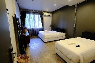 [ナイトバザール]アパートメント(40m2)| 1ベッドルーム/1バスルーム IRON32 40SQM Room withTerrace near Night Bazaar