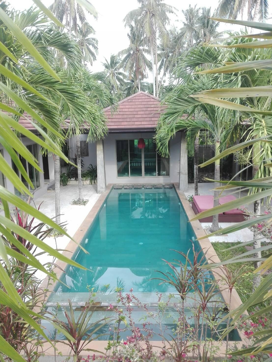 Bali Style Private Villa 1  by Natasak วิลลา 3 ห้องนอน 3 ห้องน้ำส่วนตัว ขนาด 700 ตร.ม. – แม่น้ำ