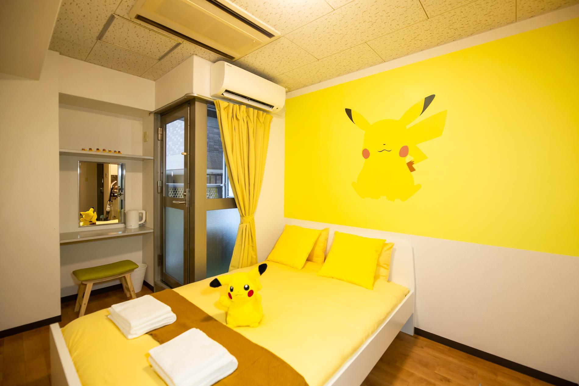 Pikachu Fan Art Den Den Anime Namba Osaka PA02 401