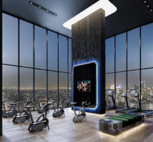 [スクンビット]アパートメント(28m2)| 1ベッドルーム/1バスルーム skypool&gym new 1BR  Sukhumvit 62 ONLY 300M TO BTS