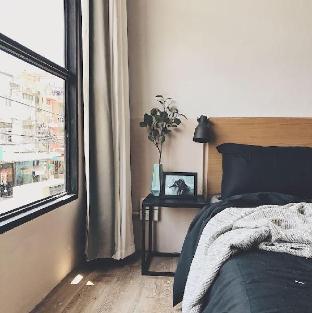 [ドンムアン空港](30m2)| 1ベッドルーム/1バスルーム Beige Poshtels Gradient room near DMK