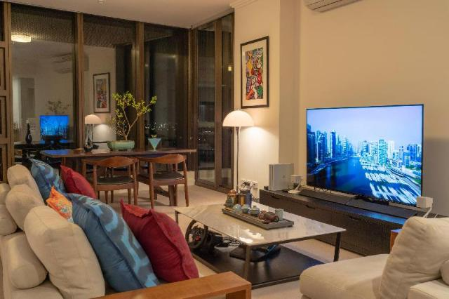 This photo about Premium 2 Bedroom Apartment with Panoramic Views shared on HyHotel.com