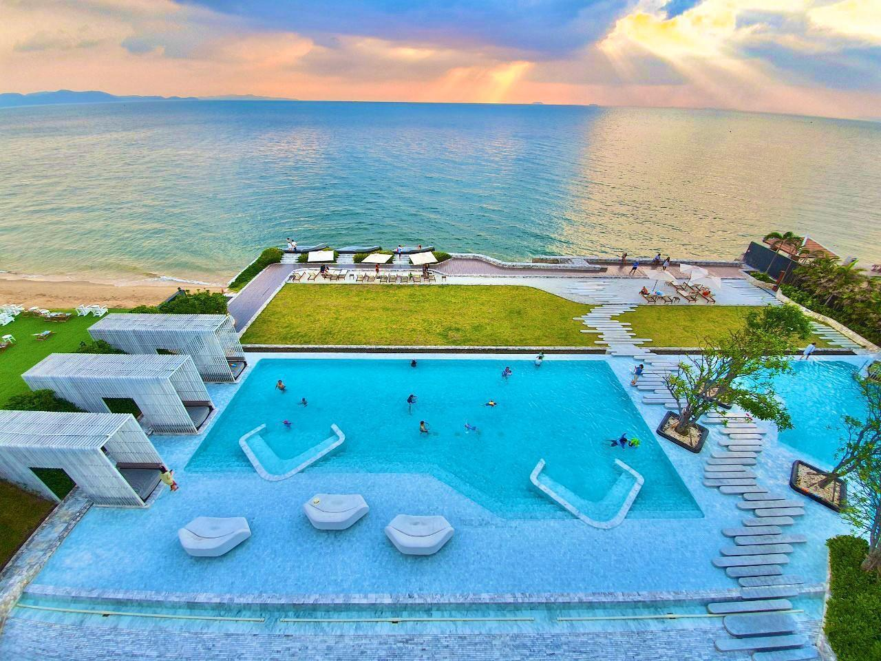 2-bedroom Veranda Residence Pattaya อพาร์ตเมนต์ 2 ห้องนอน 2 ห้องน้ำส่วนตัว ขนาด 55 ตร.ม. – นาจอมเทียน