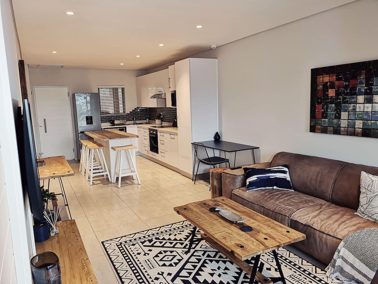 Eco Apartment Nestled In Coastal Forest Estate.