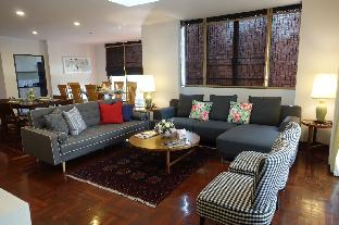[サトーン]アパートメント(455m2)| 6ベッドルーム/6バスルーム Cozy and Spacious 6BR House in Central Bangkok