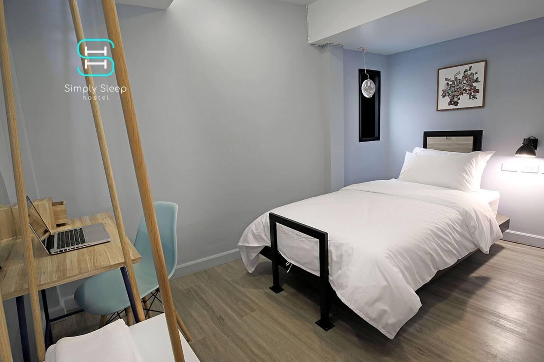 Simply Sleep Hostel - Simply Single Room 1 ห้องนอน 1 ห้องน้ำส่วนตัว ขนาด 30 ตร.ม. – สีลม