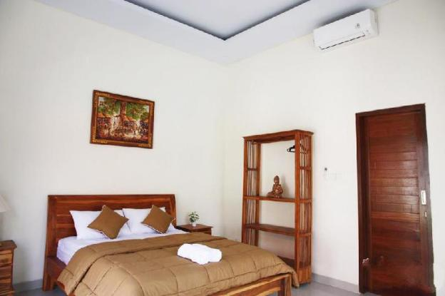 *rice field view room with kitchen and pool @ Ubud