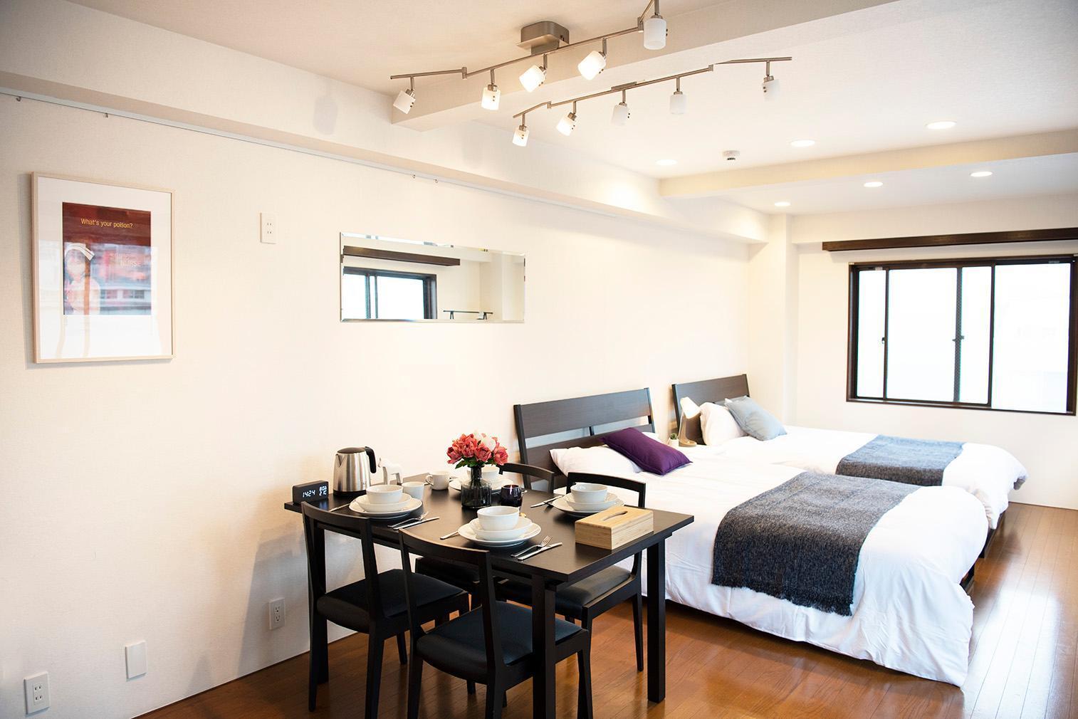 Luxury Apartment In Shinjuku 401