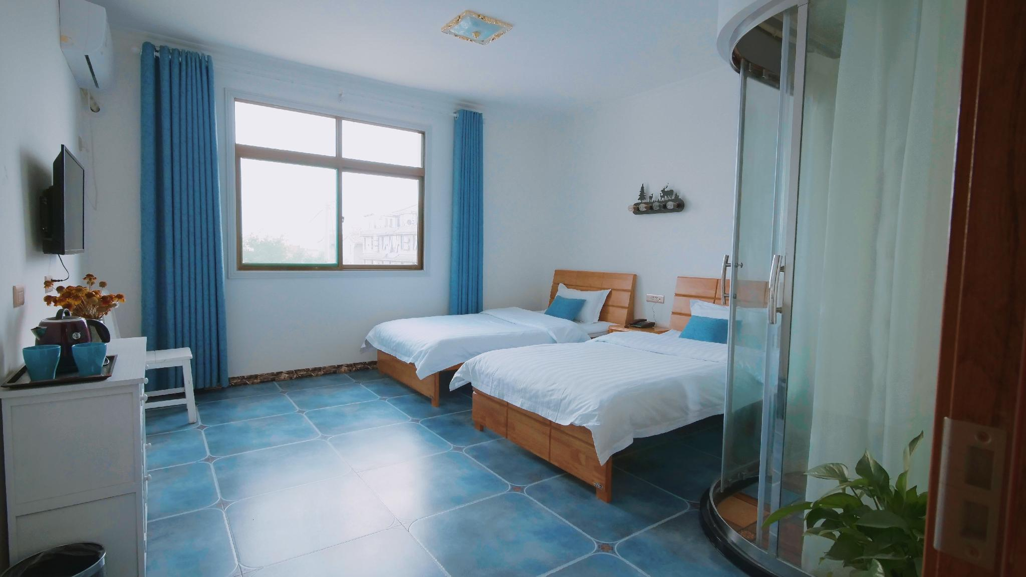 Xianyang Airport Qi Xia Homestay Double Bed Room