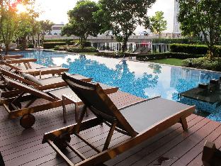 [スクンビット]アパートメント(32m2)| 1ベッドルーム/1バスルーム Cosy room near skytrain with a view of bangkok.
