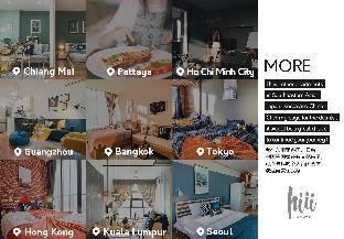 [トンブリー]アパートメント(30m2)  1ベッドルーム/1バスルーム [hiii]Variegata Indy Night Market*KhaoSanRd-BKK205