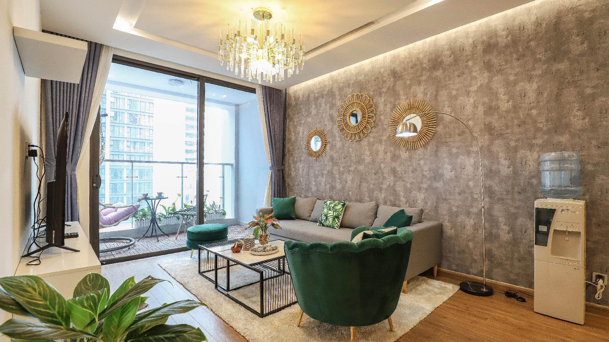 QMP.Luxurious 3-bedroom Apartment M3 near LOTTE