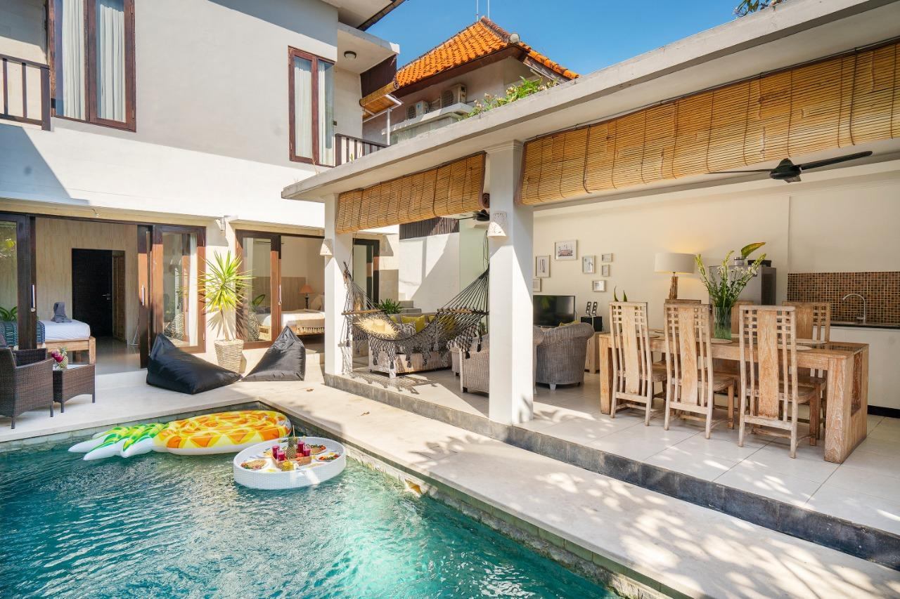 Sweet And Cozy 3BDR Villa  Free Floating Breakfast