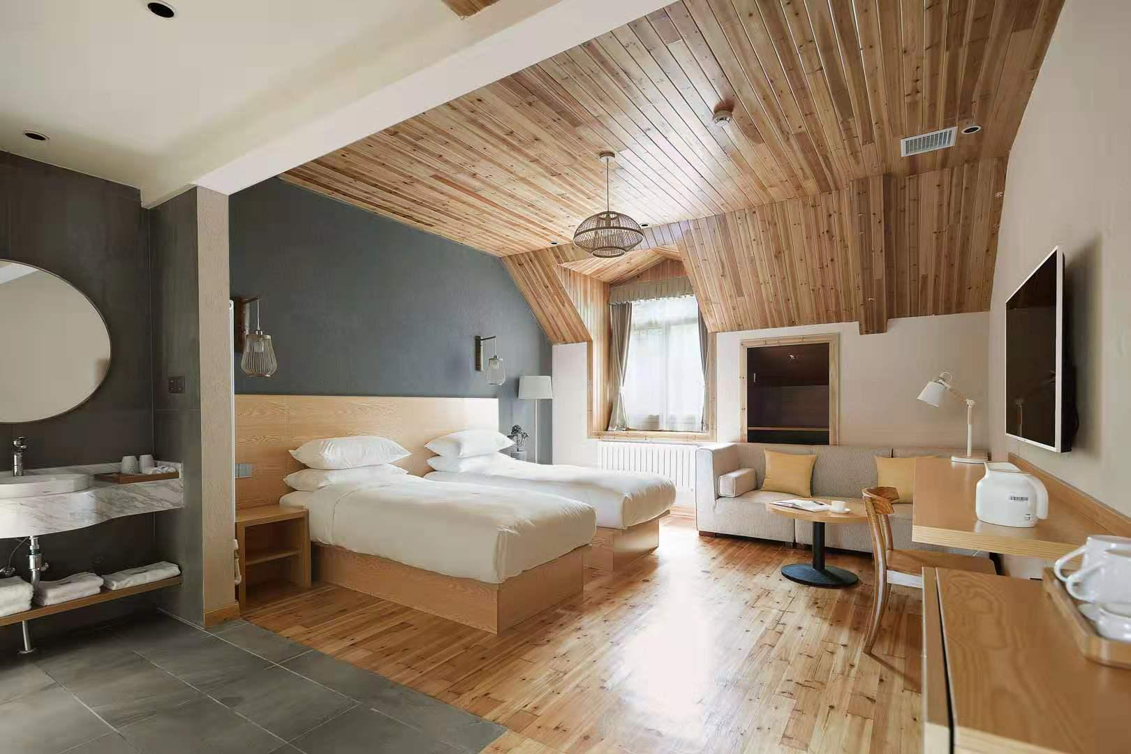 Lushan Heyuan Villa Elegant Twin Room