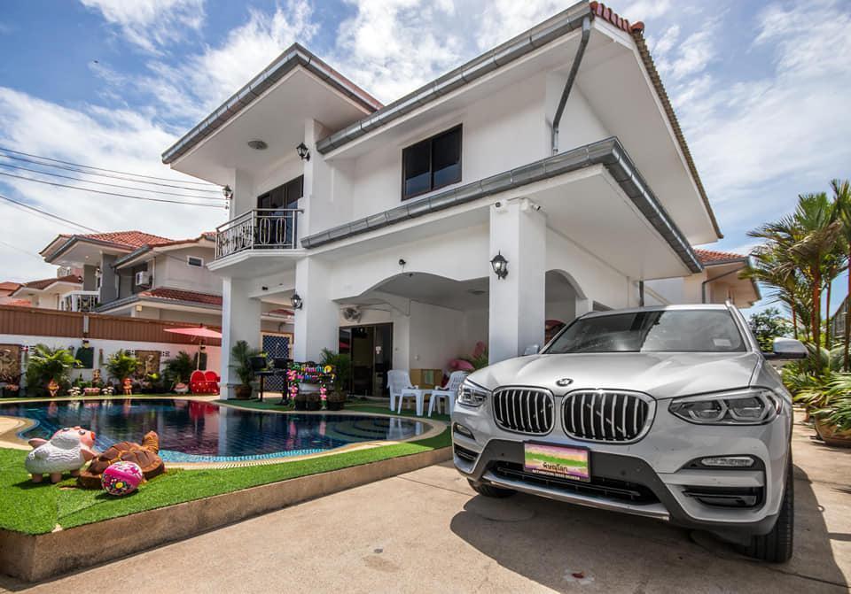 White House Pool Villa by White House Pattaya วิลลา 4 ห้องนอน 4 ห้องน้ำส่วนตัว ขนาด 400 ตร.ม. – หาดจอมเทียน