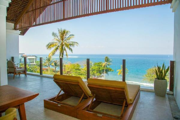 1-BR-Ocean View Suite+Brkfst @(145)Senggigi Lombok