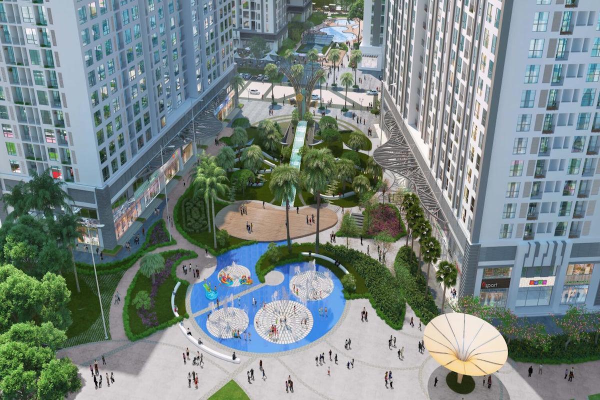 Asahi Luxstay   Time City Park 5   2Br Apt