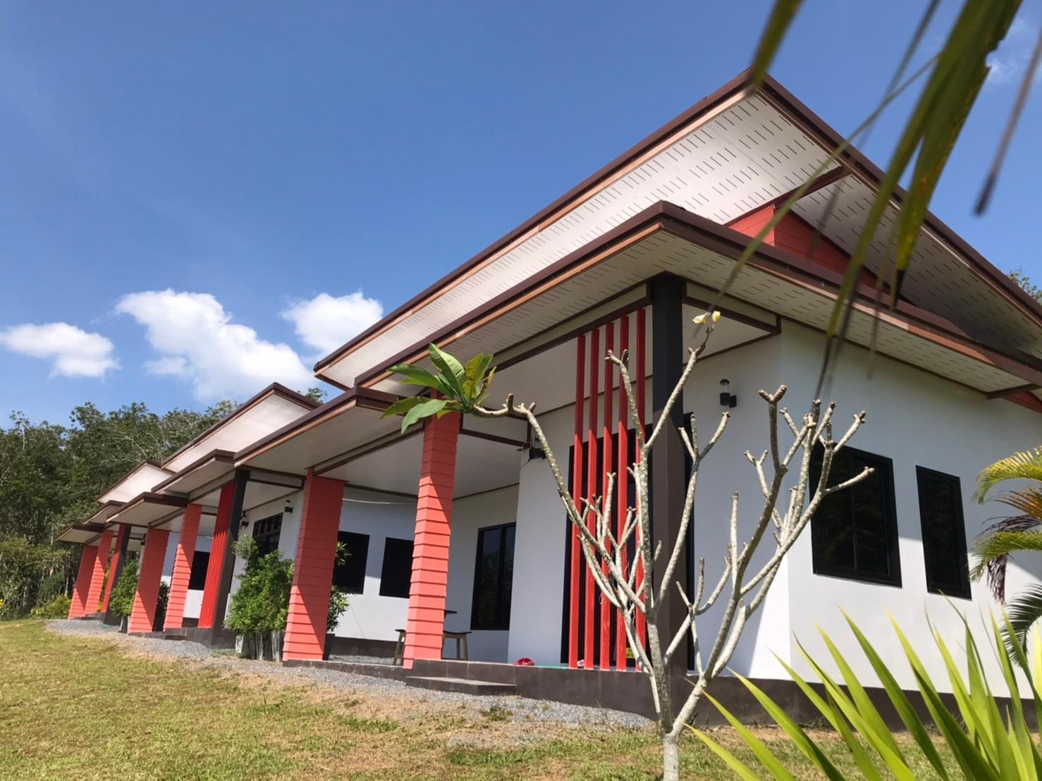 Krabi Palm Garden House On Hill