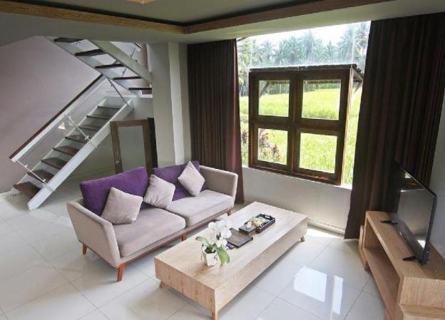 2BR Villa with Private Pool and Rice field View